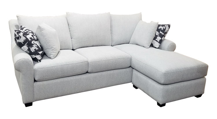489-97 Sofa Chaise w/Stor