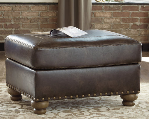 Nicorvo Signature Design by Ashley Ottoman image