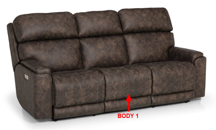 823-51 Pwr HR Recl. Sofa