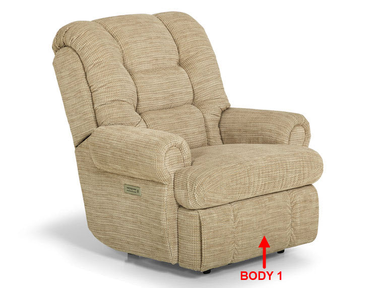 834-53 (Power) Big Mans Reclining Chair