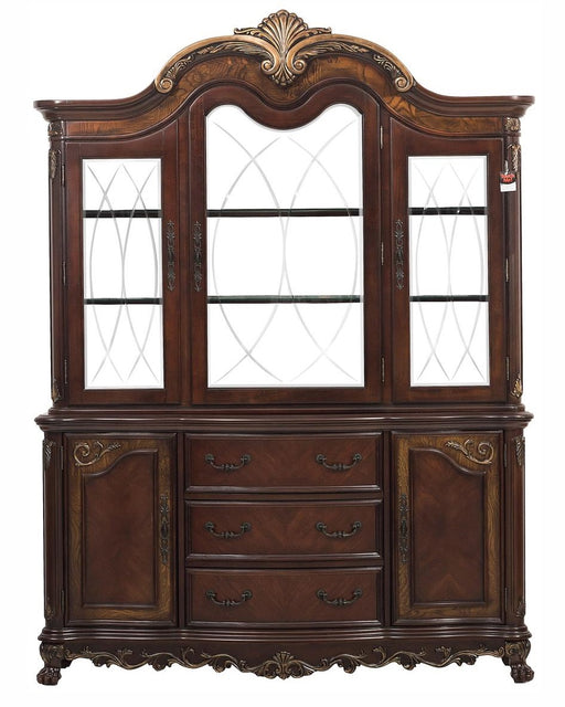Homelegance Deryn Park Buffet and Hutch in Dark Cherry 2243-50* image
