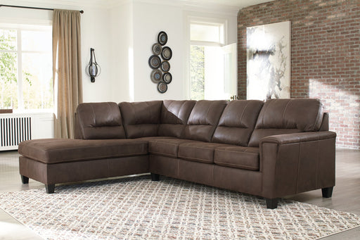 Navi Signature Design by Ashley 2-Piece Sectional with Chaise image