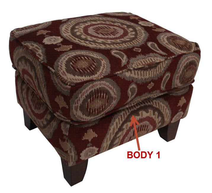 954-08 Occasional Ottoman