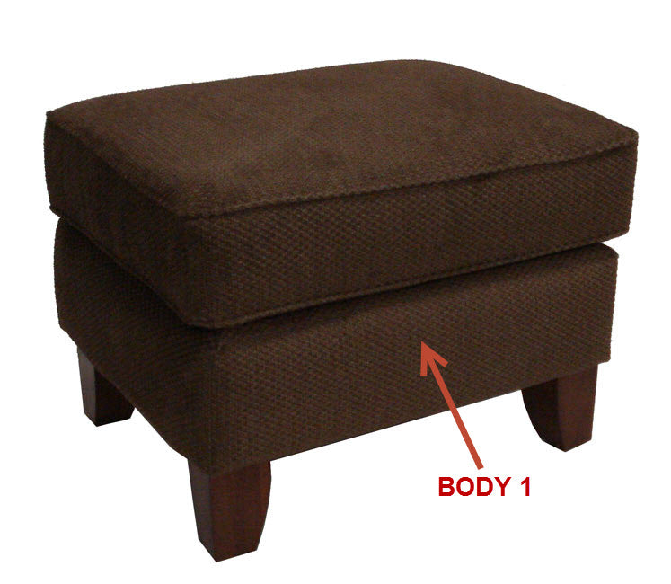 962-08 Occasional Ottoman