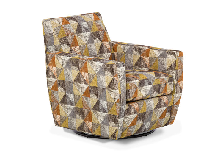 981-57 Gridlock Harvest Swivel Chair