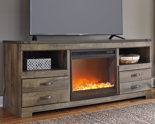 Trinell Signature Design by Ashley TV Stand image
