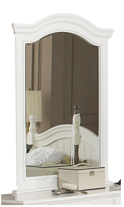 Homelegance Clementine Mirror in White B1799-6 image
