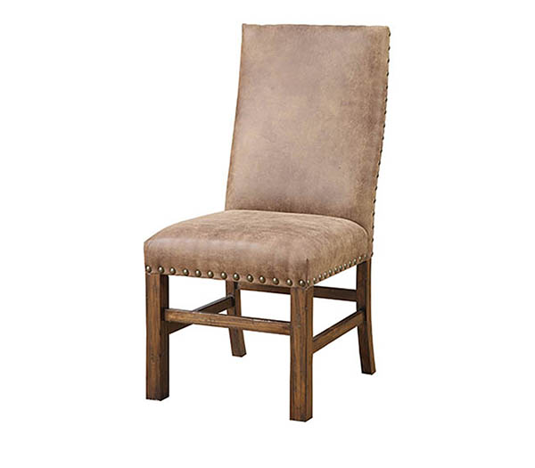 Emerald Home Chambers Creek Upholstered Side Chair (Set of 2) in Distressed Brown D412-20