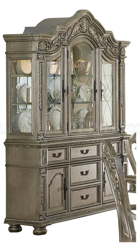 Homelegance Catalonia Buffet and Hutch in Platinum Gold 1824PG-50* image