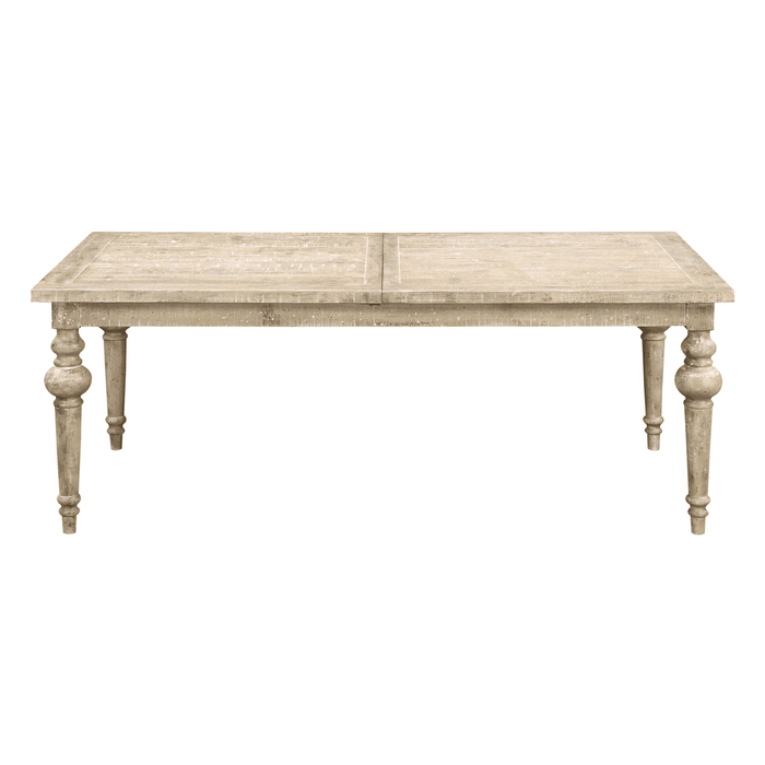 Emerald Home Interlude Dining Table in Weathered Pine D560-10-K