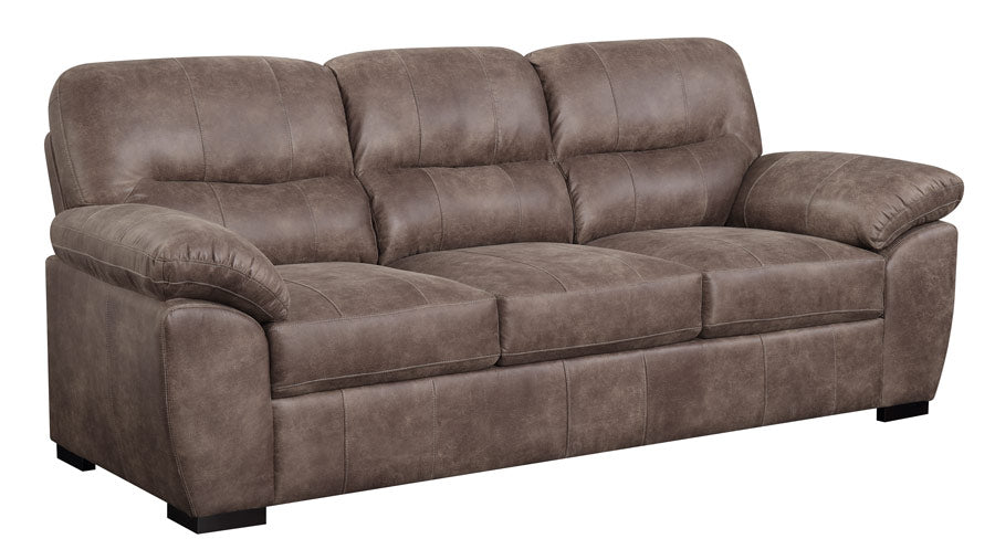 Emerald Home Nelson Sofa in Almond Brown U3472-00-05