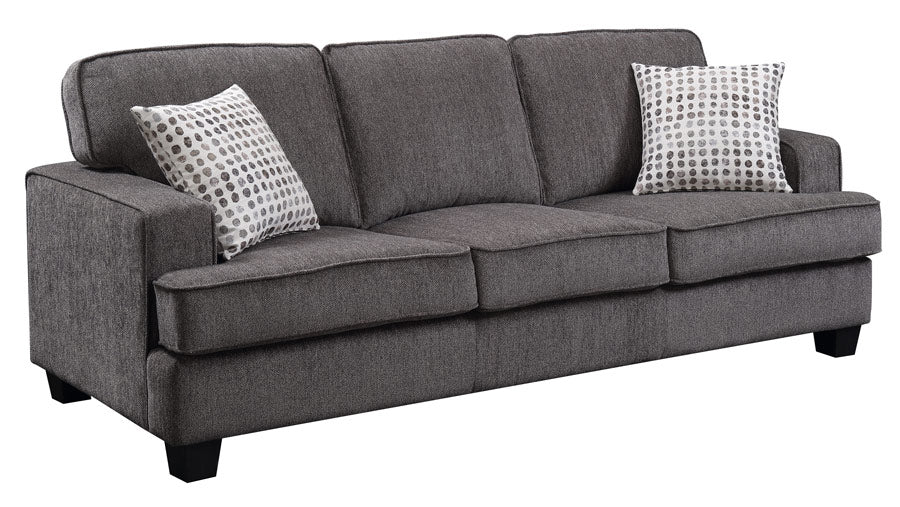 Emerald Home Furnishings Carter Sofa in Ink U3477-00-13