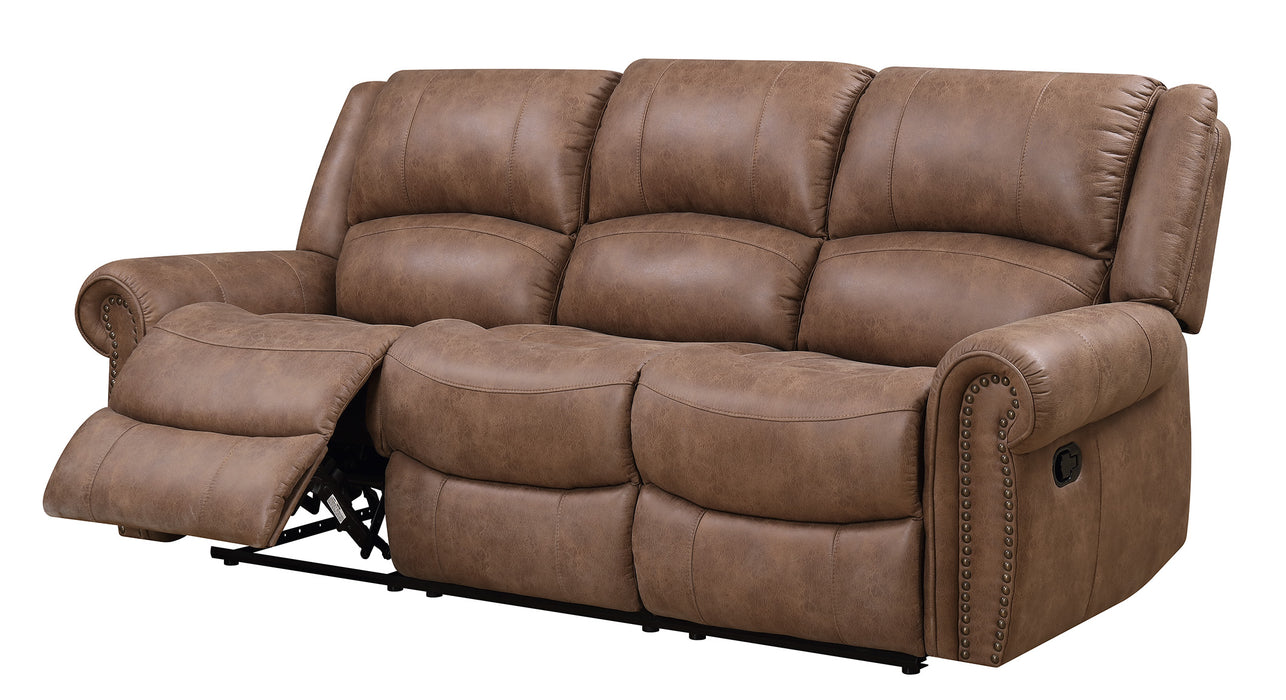 Emerald Home Spencer Sofa in Brown U7122-00-05