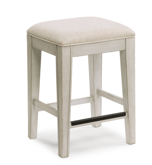 Flexsteel Wynwood Harmony Barstool in White W1070-870 image