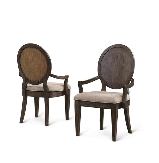 Flexsteel Wynwood Wakefield Upholstered Arm Chair (Set of 2) in Two-Tone W1081-841 image