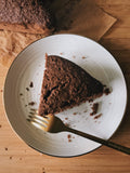 VEGAN CHOCOLATE COCONUT CAKE