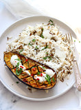 Baked Curry Eggplant With Basmati Rice