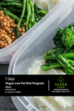 7 Days Vegan Low Fat Diet Program eBook | Vegan Vitamin UK