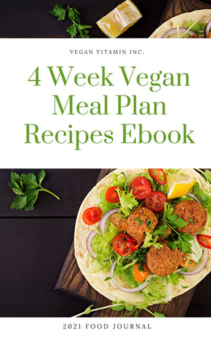 4 Week Vegan Meal Plan eBook - Vegan Vitamin UK
