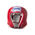 Sandee Open Face Synthetic Leather Head Guard
