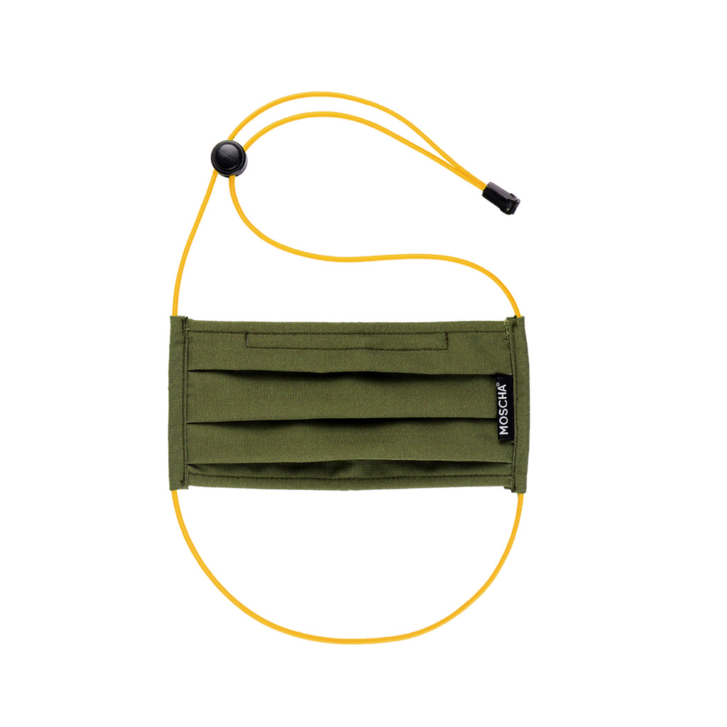 Moscha Face Cover - Olive Green