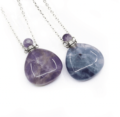 Crystal Perfume Pendant & Necklace