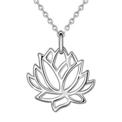 Purity Lotus Pendant & Necklace