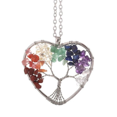 Reiki Roots Tree of Life Pendant