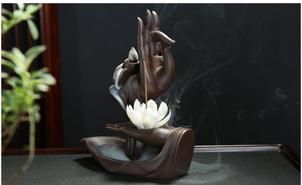 Healing Hands Incense Holder