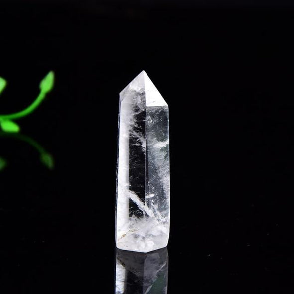 Natural Quartz Obelisk