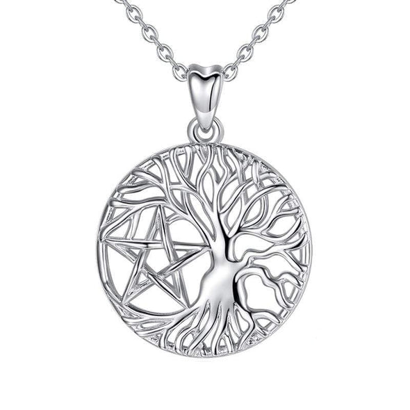 Circe Tree of Life Pendant & Necklace