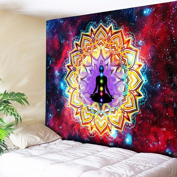 Astral Chakra Tapestry