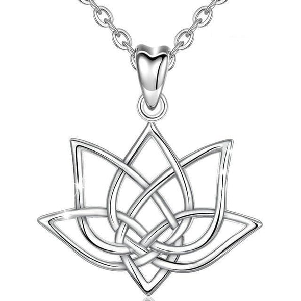 Dynamic Lotus Necklace