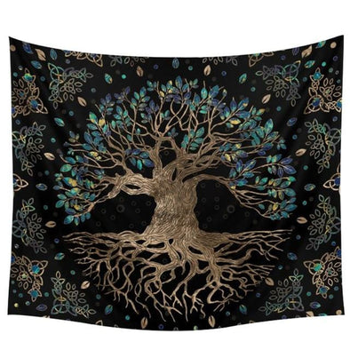 Celtic Tree of Life Tapestry