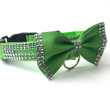 Load image into Gallery viewer, LED Nylon  Bling Dog, Cat  Collar, Glow in the dark