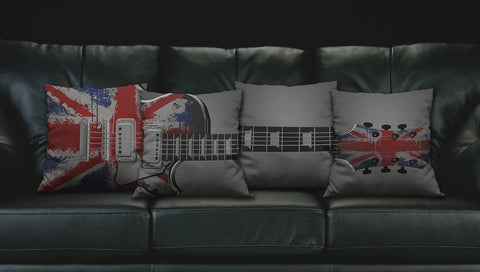 UK Guitar Pillows