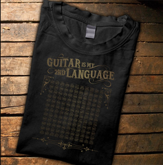 Guitar Is My Second Language