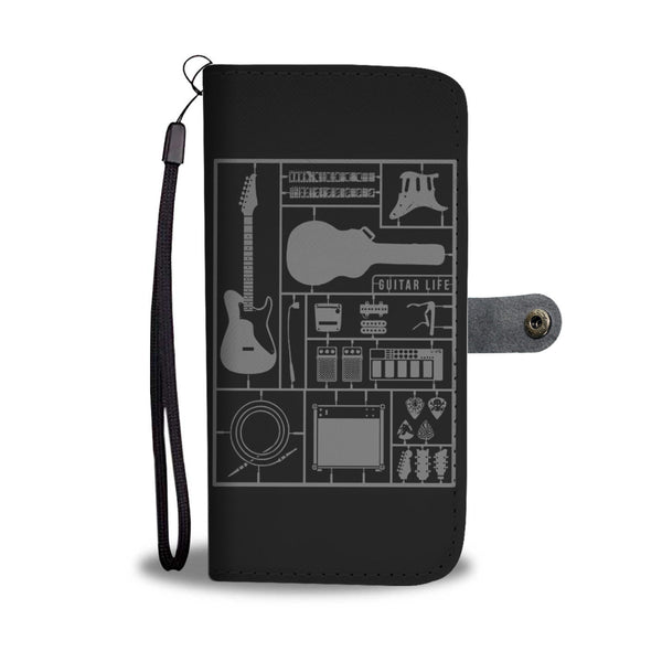 Build Your Own Guitar Wallet Phone Case