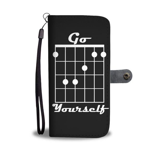 Go F Yourself Wallet Phone Case