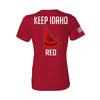 Keep ID Red State Flag Women's T-Shirt