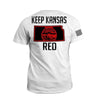 Keep KS Red State Flag (2nd Edition)