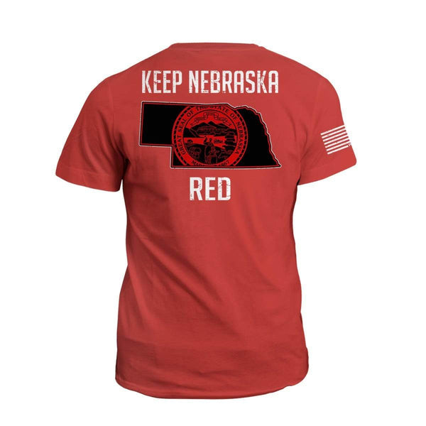 Keep NE Red State Flag (2nd Edition)