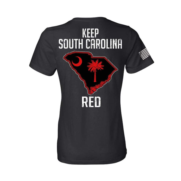 Keep SC Red State Flag Women's T-Shirt