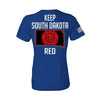 Keep SD Red State Flag Women's T-Shirt