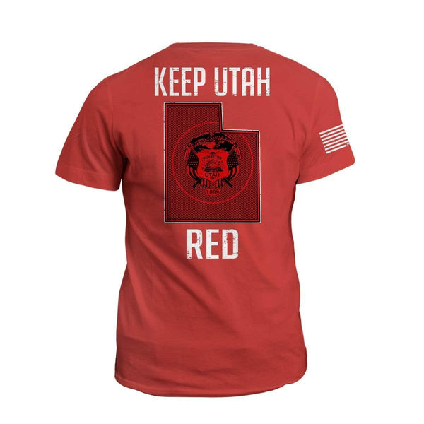 Keep UT Red State Flag (2nd Edition)