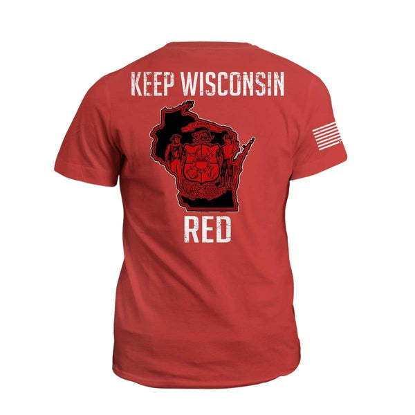 Keep WI Red State Flag (2nd Edition)