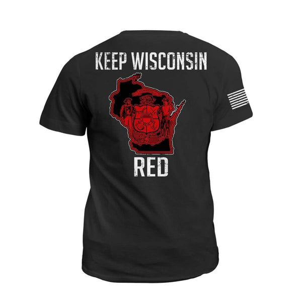 Keep WI Red State Flag
