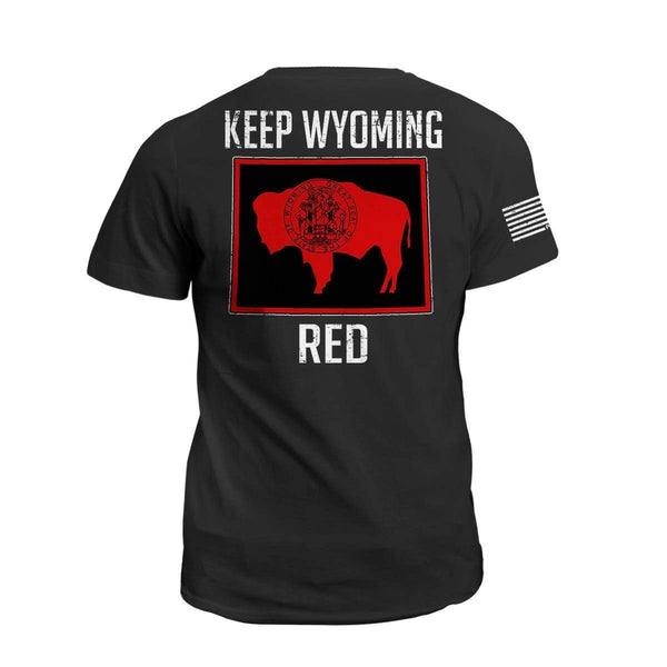 Keep WY Red State Flag