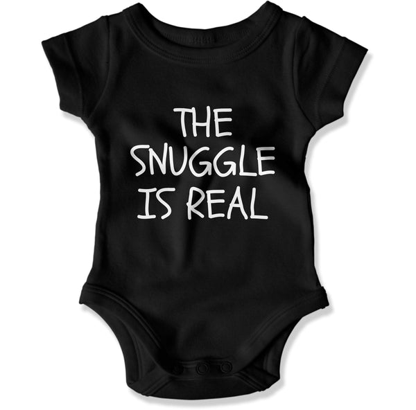 The Snuggle Is Real - Baby Bodysuit