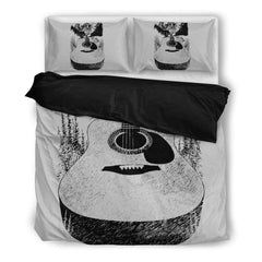 Go Where The Guitar Takes You (Version 2) Bedding Set